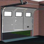 Установка подъемных промышленных ворот для гаража