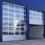Установка автоматических промышленных ворот для гаража