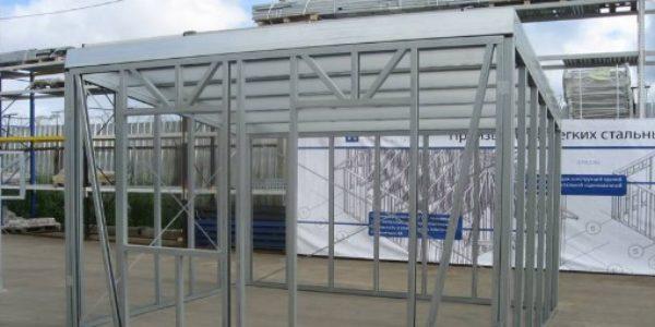 Гараж из ЛСТК цена в Новосибирске