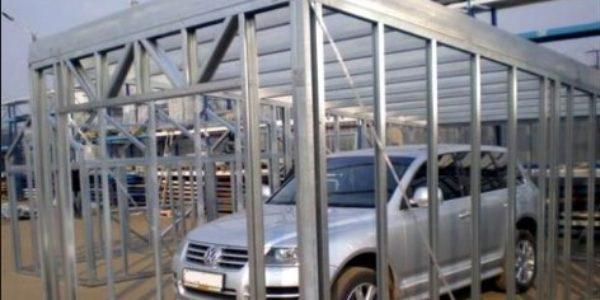 Каркасы для гаражей из ЛСТК вНовосибирске