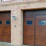 Установка гаражных ворот Alutech (Trend серия)