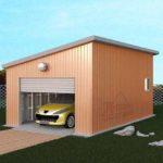 Строительство гаража, цена за работу (под ключ)