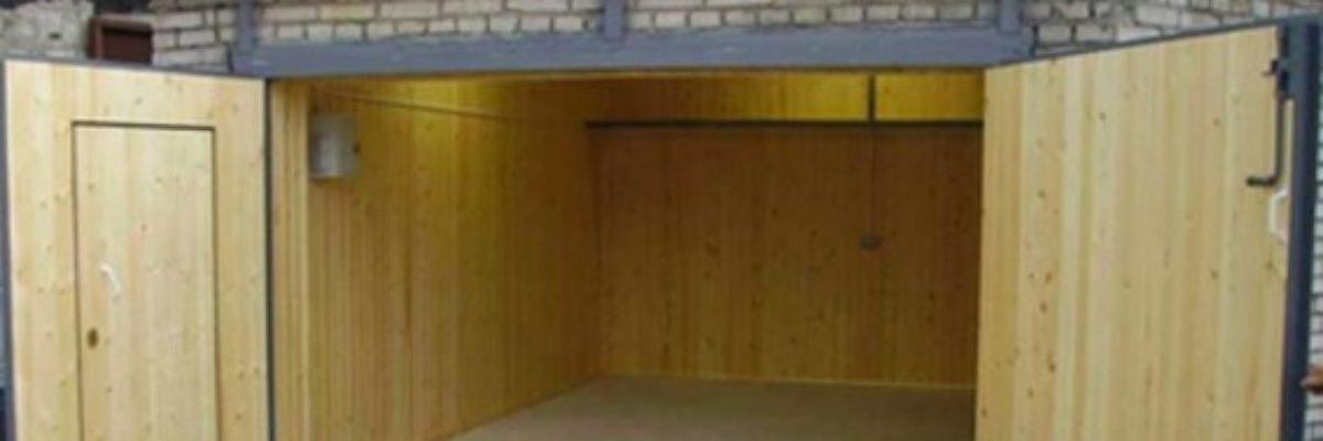 Ремонт гаражей в Новосибирске